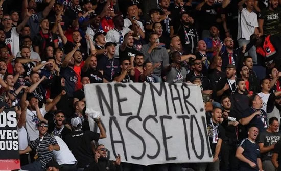 Neymar's sister hits back at PSG fans who demanded he leave by raging 'you'll win nothing without him f***ers'