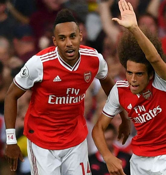 Arsenal 2-2 Tottenham: Gunners battle back through Lacazette and Aubameyang
