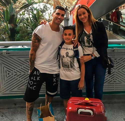 Jose Antonio Reyes' widow Noelia posts emotional video of Arsenal legend and their children on what would have been his 36th birthday