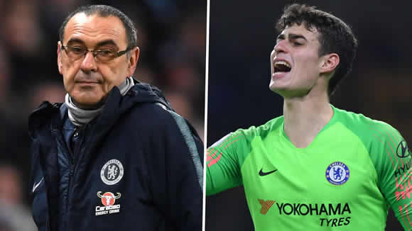 'I am not proud about what happened' – Kepa opens up on Carabao Cup final clash with Sarri