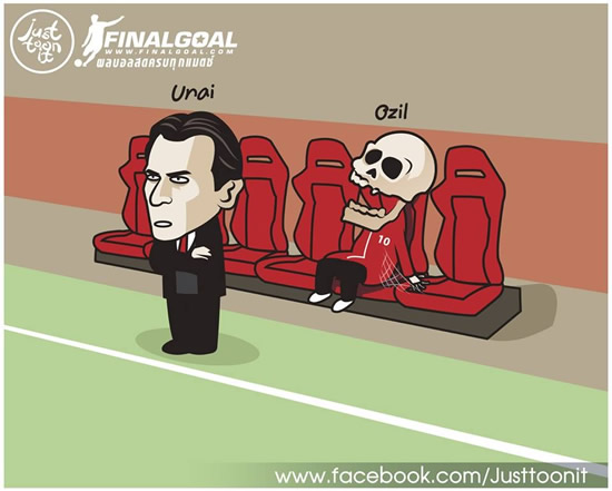 7M Daily Laugh  - Ozil with Unai now