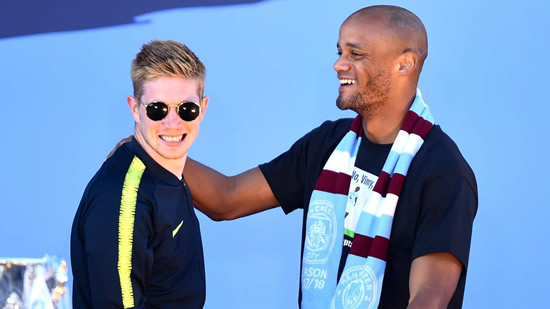'Keep a place for me' - De Bruyne plans to join Kompany at Anderlecht when he leaves Man City