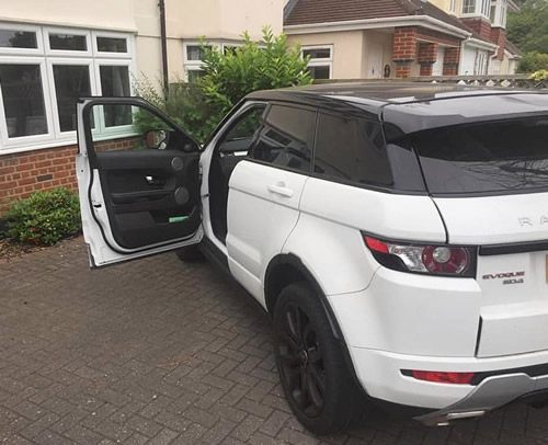 Footie wag told she can't get stolen Range Rover back after someone else bought it