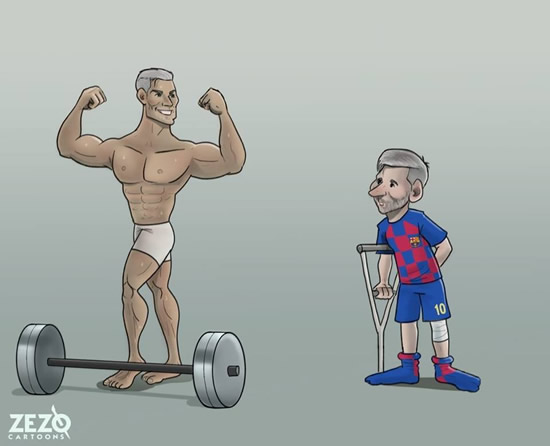 7M Daily Laugh - Messi is getting older but...
