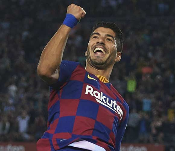 Barcelona 4-0 Sevilla: Suarez, Dembele and Messi shine without Griezmann