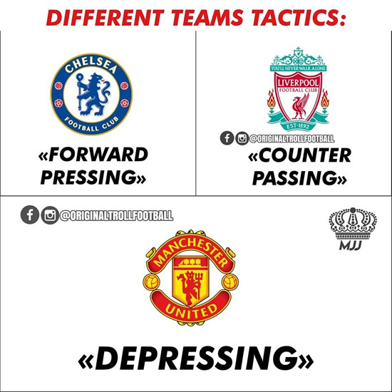 7M Daily Laugh - Manchester United Tactics