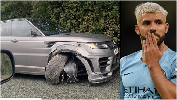 Aguero caught in car accident on way to training