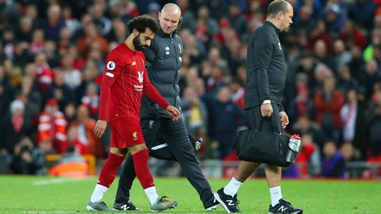 Liverpool's Mohamed Salah trains but Joel Matip struggles with knee