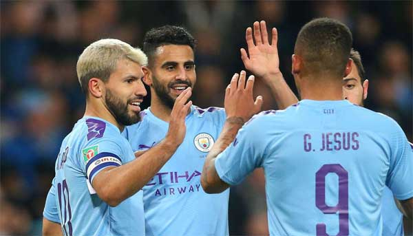Manchester City 2-1 Southampton: Aguero and Walker complete turnaround