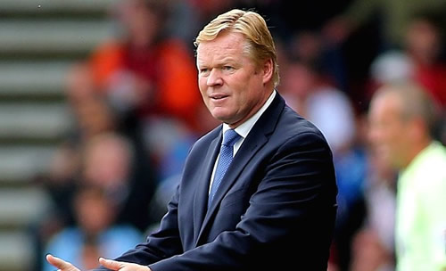 Netherlands coach Koeman admits Barcelona clause