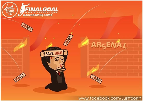 7M Daily Laugh - Utd follow Emery's fault?