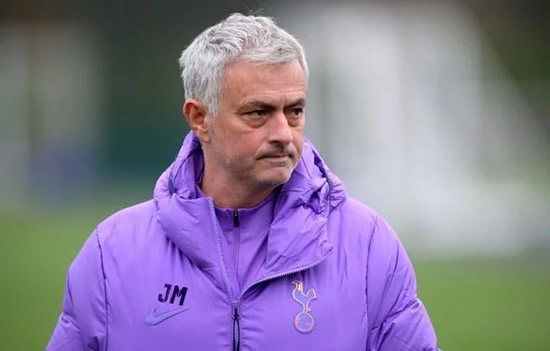 Jose Mourinho demands time to work at Tottenham after Liverpool Champions League question