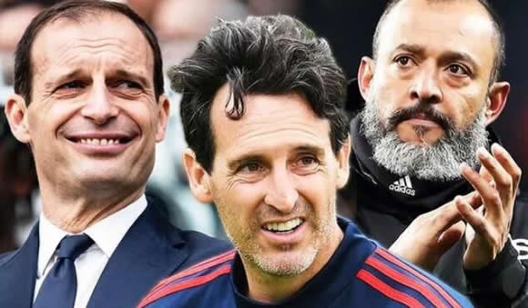 Unai Emery fires abrupt response when asked about Arsenal links to Nuno and Allegri