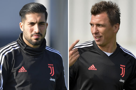 Dortmund join Man Utd in race for Juventus rejects Emre Can and Mario Mandzukic in bargain £26m transfer swoop