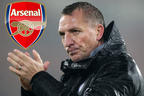 'MADE A CHOICE' Rodgers says Arsenal move 'not logical' as top target insists he is happy at Leicester