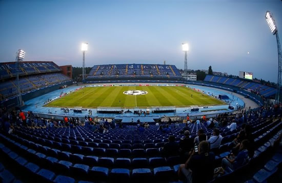 Man City fan, 57, 'seriously injured' at Zagreb Champions League clash