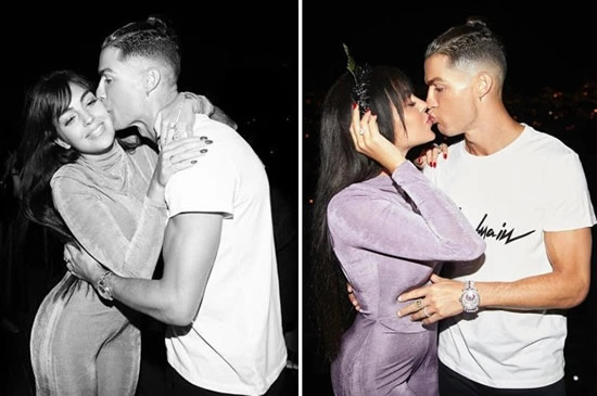 FELIZ ANO Cristiano Ronaldo and girlfriend Georgina Rodriguez send matching loved up Instagram messages as they ring in New Year
