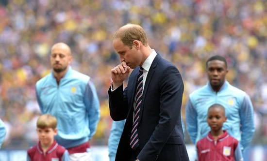 Prince William 'more worried about Aston Villa' than Meghan and Harry royal split