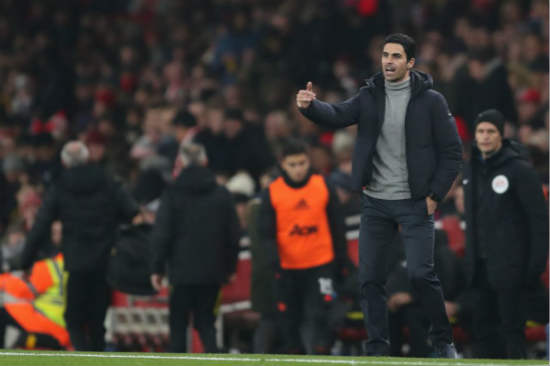 Mikel Arteta admits Arsenal may not sign any players this month
