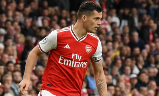 Arsenal's make-shift defender Xhaka: No-one can doubt us now