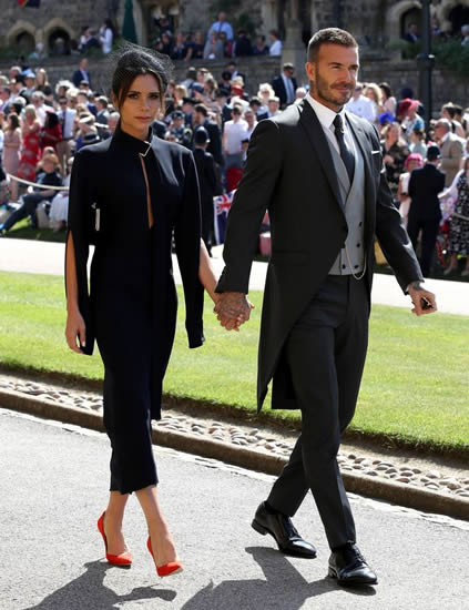 Meghan Markle 'bombarded' Victoria Beckham before 'bitter feud over dress'