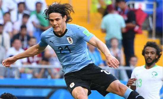 Agents for PSG striker Cavani in Spain for Atletico Madrid talks