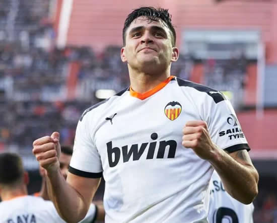 MAD ON MAX Man Utd sent scouts to watch Valencia striker Maxi Gomez score twice vs Barcelona ahead of potential summer transfer