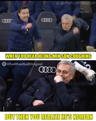 7M Daily Laugh - Mourinho on Sterling