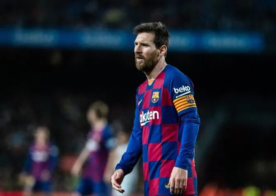 MAN NOU Man Utd ready to land Lionel Messi in incredible free transfer as star's row over Abidal interview turns sour