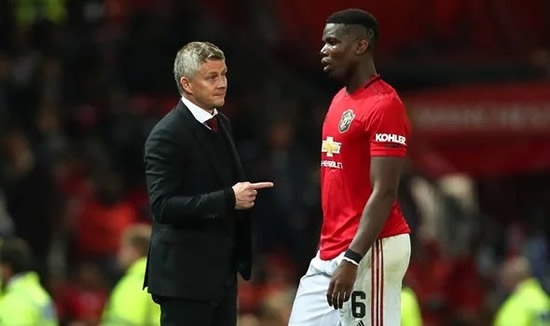 Man Utd leave Paul Pogba behind for Spain trip as Solskjaer drops major transfer exit hint
