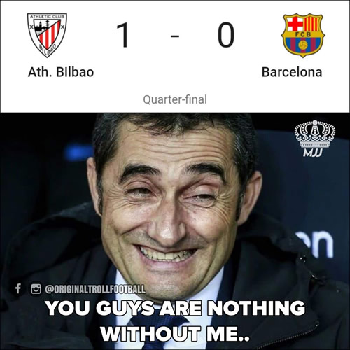 7M Daily Laugh - Bye Copa del Rey