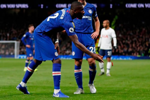 Rudiger says 'racists have won' as Chelsea defender is booed by Spurs fans after failed abuse probe