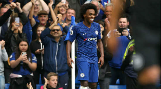Mourinho wants to bring Willian from Chelsea to Tottenham on a free transfer - report