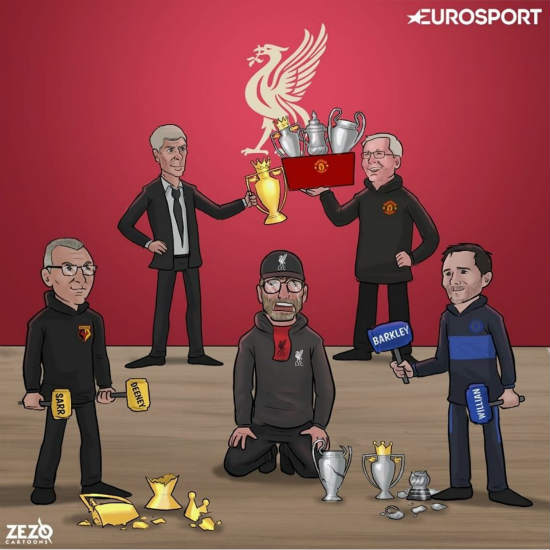 7M Daily Laugh - No treble for Liverpool