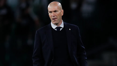 Zinedine Zidane takes responsibility for Real Madrid's 'worst game of the season'
