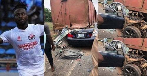 Ifeanyi George: Enugu Rangers, teammates pay tribute to Nigeria forward after another fatal road crash