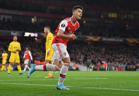 Gabriel Martinelli outlines his Arsenal ambitions: 'I want to win the Champions League'