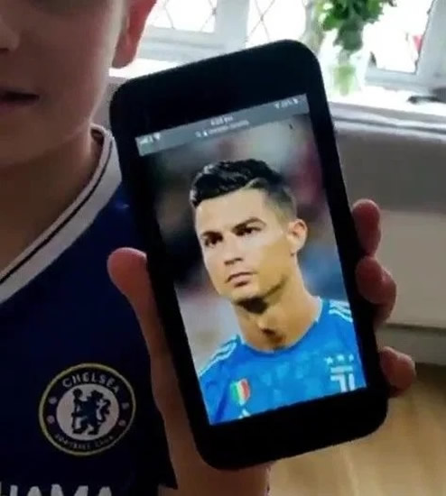 Young Chelsea fan devastated after getting wrong Ronaldo haircut having asked for Cristiano's style
