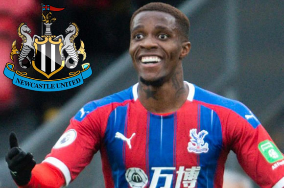 Newcastle will make Wilfried Zaha a transfer target – if £300million Saudi takeover goes through
