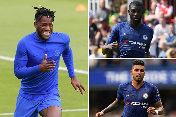 Chelsea desperate to flog Batshuayi, Bakayoko and Emerson in £160m clear-out to fund Havertz and Chilwell transfers