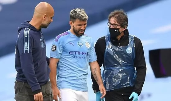 Man City boss Pep Guardiola reveals he has four players who could replace Sergio Aguero