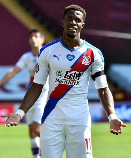 PREM ACE ABUSED Boy, 12, arrested for racially abusing Crystal Palace star Wilfried Zaha called a 'black c***' in vile Instagram posts