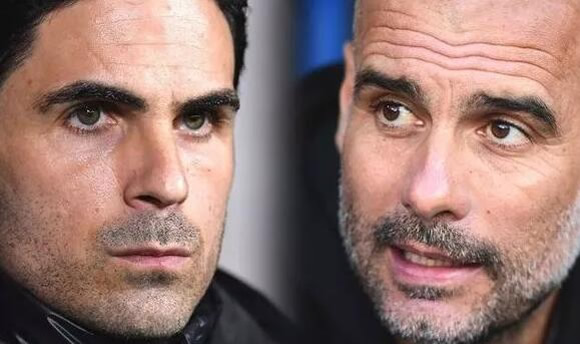 Mikel Arteta's blunt answer when asked about Man City boss Pep Guardiola slamming Arsenal