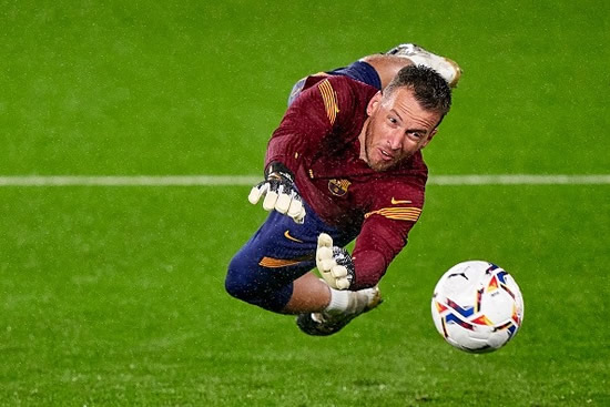 NET ENOUGH Arsenal transfer target Neto 'hands in transfer request' as Barcelona keeper wants first-team action