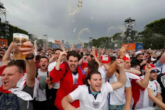 'CARNAGE' Football fans in meltdown as England's final Euros group stage clash vs Czech Republic is day after UK lockdown ends