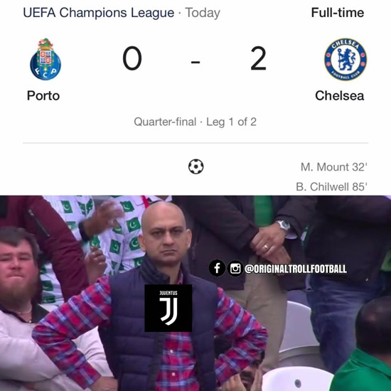 7M Daily Laugh - UEFA CL Last night