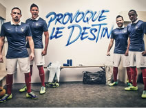 France showed their new kit