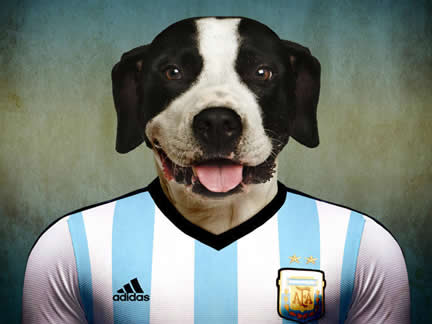 The might pups of the World Cup