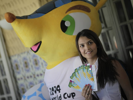 World Cup tickets go on sale in Rio