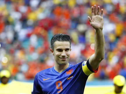 Spain 1 : 5 Netherlands